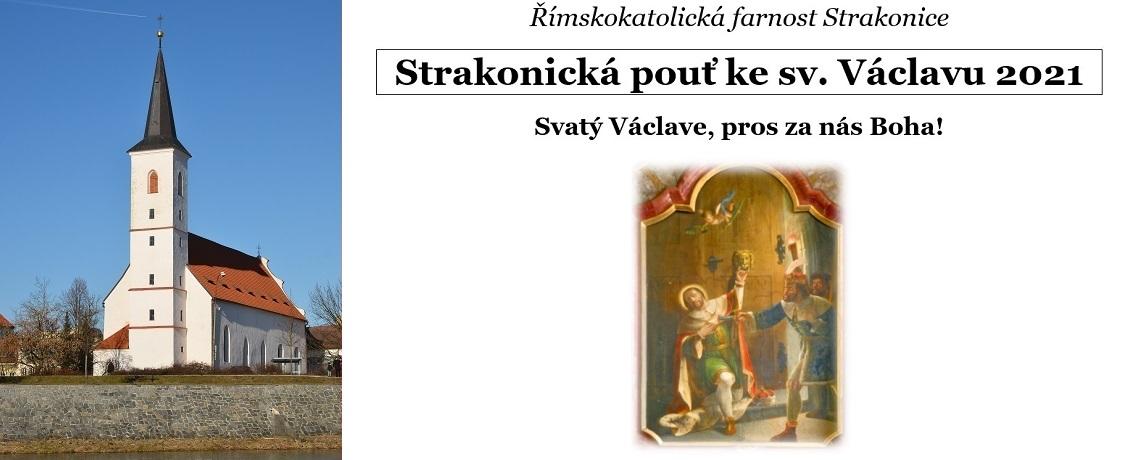 Strakonická pouť ke sv. Václavu 2021